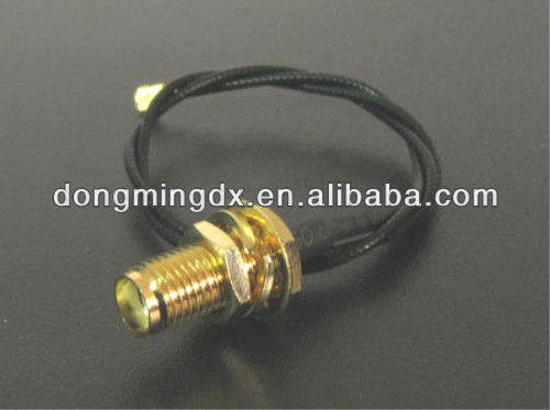RF cable SMA female to IPEX coaxial connector adapter
