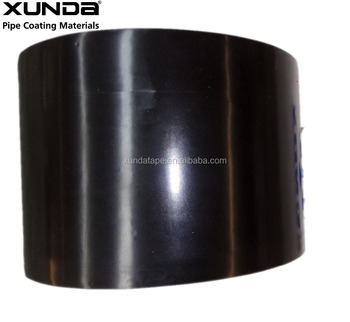 black Inner Wrap Tape for Polyethylene Cold Applied Coating
