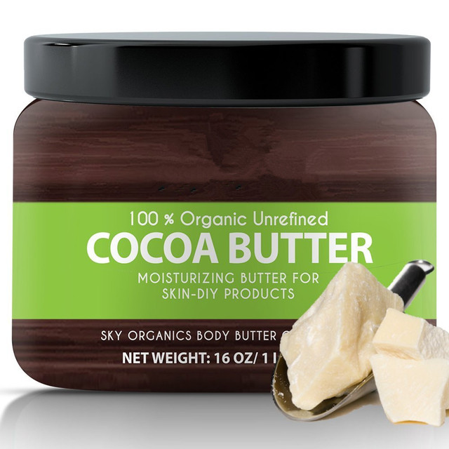 organic raw cocoa butter