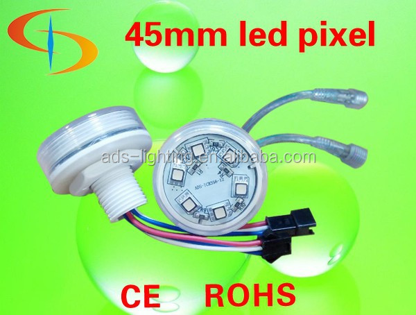 High quality Ferris Wheel and Amusement park rides led pixel light IP66 waterproof 45mm 6 leds