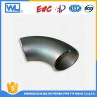 Stainless Steel Large Diameter Pipe Fittings Titanium Elbow