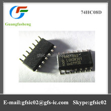 Hot sale electronic types of integrated circuit 74HC08D