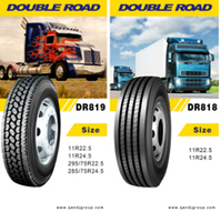 ling long tyre all steel radial truck tire for whosale 11r24.5 11r-24.5 11x24.5