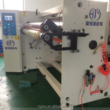 HJY-FJ01 advanced speed automatic slitting machine for thick plastic roll
