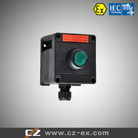 ATEX IECEX certified ZONE 1 and ZONE 2 full plastic explosion proof local control station