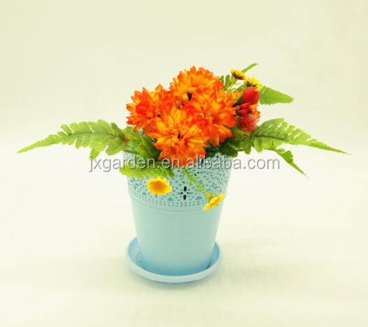 round mini pots plastic containers for flower plants