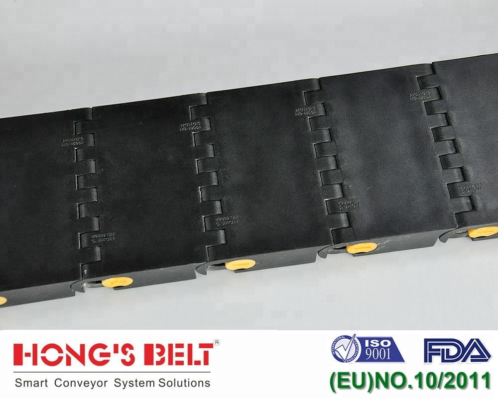 HS-1800A-100: Chinese Homemade Heavy duty smart modular plastic car conveyor belt for heavy carries conveyor line