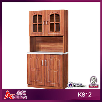 K812 Cheap portable wooden kitchen pantry cabinet