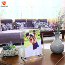 Custom size acrylic photo frame