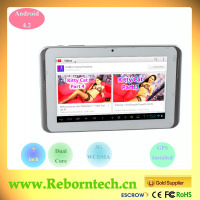 7 inch 3G Gastric Tablets with Youtube Video Playable Via SIM Card Network