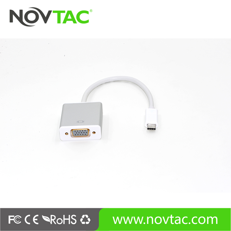 High Quality Video Cable Adapter USB 3.1 Type C to Vga