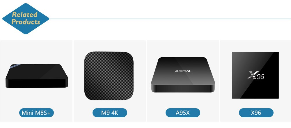 Original X96 Amlogic S905X Quad Core Android 6.0 Marshmallow TV BOX 2GB/16GB 2GB/8GB 1GB/8GB