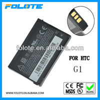 High Quality Wholesale! China manufacturer 3.7V 1500mAh li-ion mobile phone battery For HTC G1 Battery DREA160