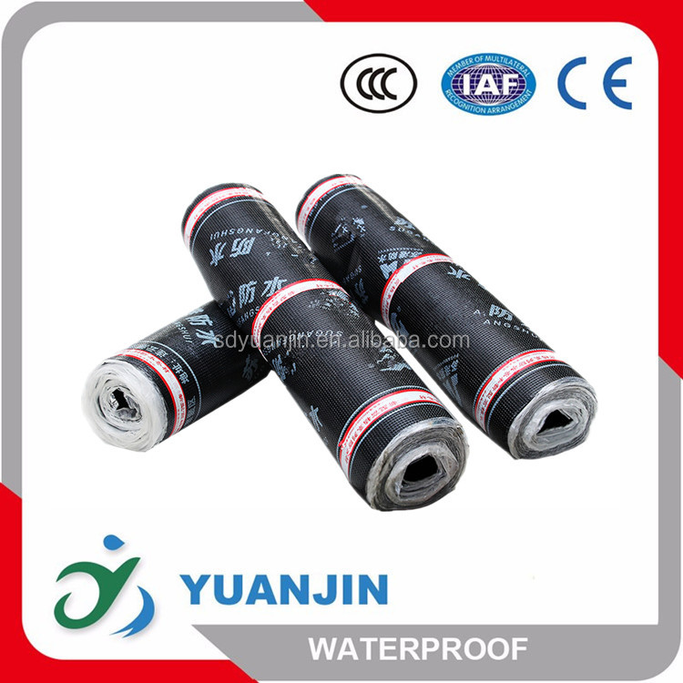 3.0mm SBS Elastomeric Modified Bitumen Underground Waterproof Membrane For Seepage Control Engineering