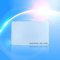RFID125Khz pvc card with serial number printed (ID thin card)