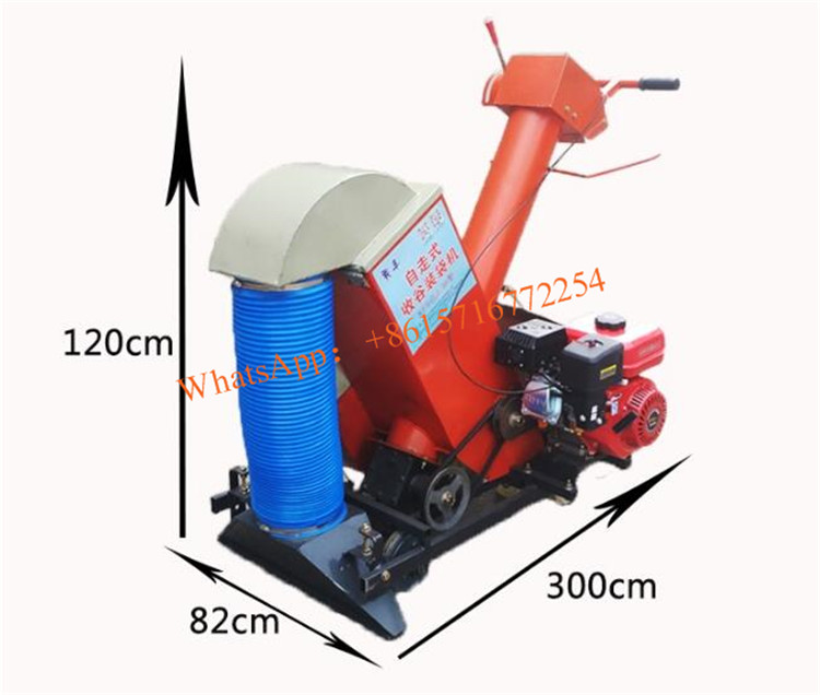 Fully Automatic Fan Power Machine For Grain Collection And Bagging