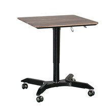JEO JN-SD115 wheels movable sit stand desk