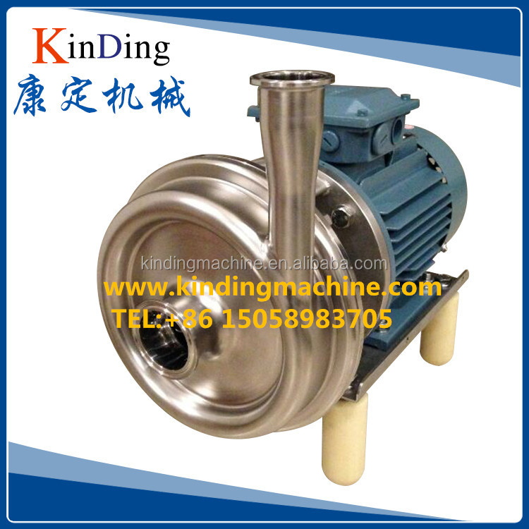 Food grade stainless steel horizontal single stage end suction centrifugal pump