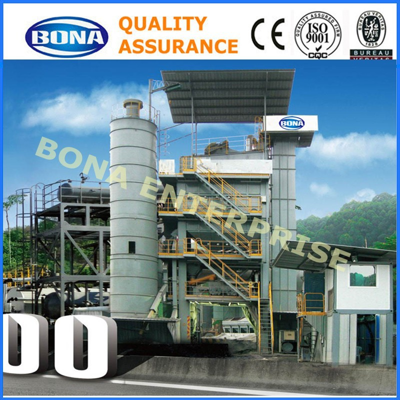 emulsified 200tph stationary drum mix asphalt plant price
