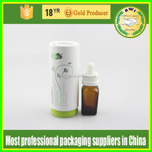 useful magical small canister paper candy packaging canister with window