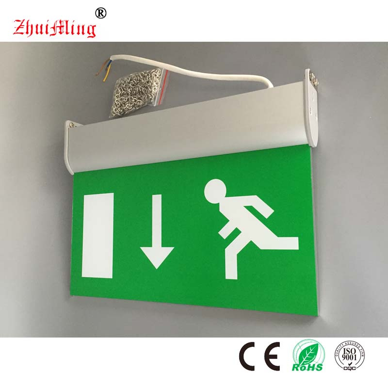 Running Man CE Wall or Ceiling Mounted LED Emergency Exit Light