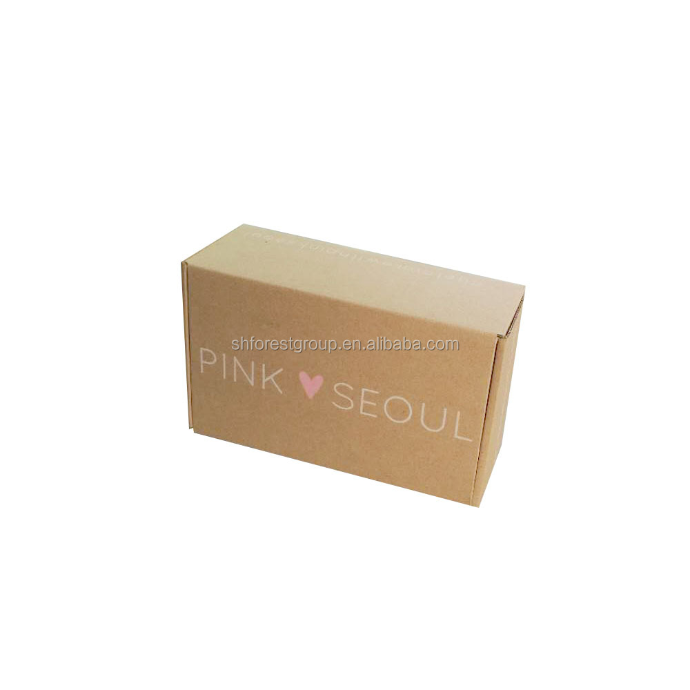 Cheap Price Customized Beautiful Simple Design Small Brown Kraft Paper Box