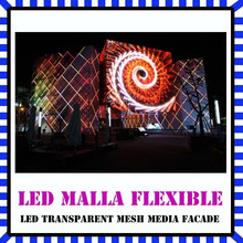Transparent Super Light Cabinet Outdoor Flexible Screen Led Display Screen