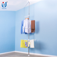 New space saving ceiling mounted clothes drying rack