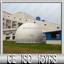 CE Manufacturer of Double Membrane Gas Balloon for Chicken Farm Biogas Plant