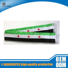 guangzhou factory direct sale Syria national sublimation day neck scarf national printed scarf