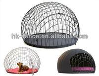Metal Iron folding pet cage for dogs and hamsters,small and big size