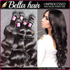 Fashion style 6A 100% peruvian virgin hair body wave, Bella human peruvian hair overnight shipping