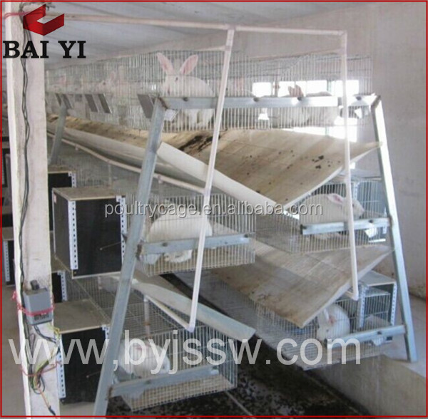 A Type Industrial Wire Rabbit Breeding Cages For Sale