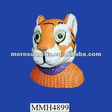 Clemson Tigers handmade ceramic cute money box