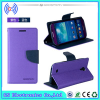 for HTC one 2 mini case, Best selling Mercury wallet leather for HTC one 2 mini case M8 mini case