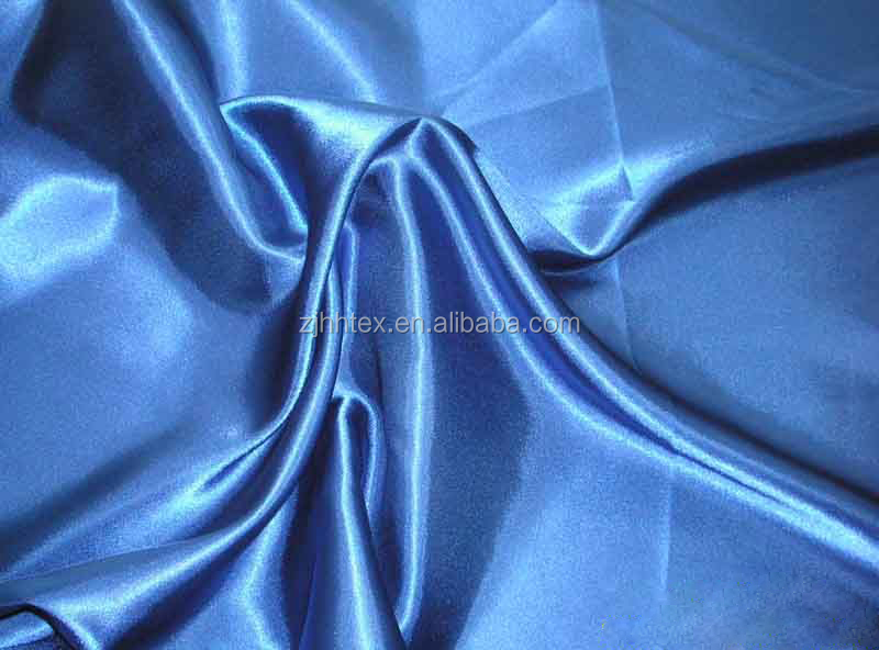 Luxurious & smooth polyester weave 100% silk satin fabric 290CM for curtain