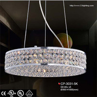2014 Beautiful Silver Modern crystal domestic light fittings