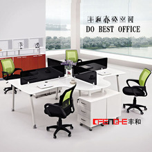 Latest design office workstation modular low table top partition