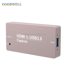 Alibaba Recommend Gold Suppliers Portable Mini Metal Case USB Capture HDMI Dongle for Broadcasting