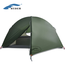 3 Season 20D Nylon 2 Person Ultralight Dome Outdoor Waterproof Camping Tent