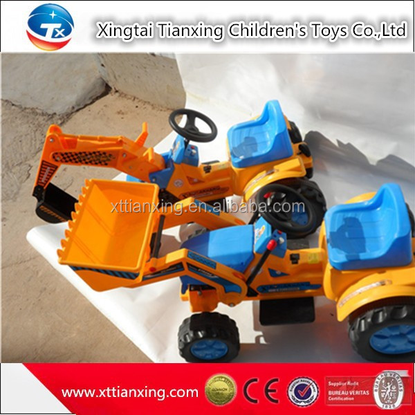 High quality best price kids indoor outdoor sand digger battery electric ride on car kids drivable kids electric ride on toy car