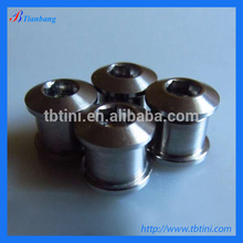 High Tensile Fastener nut and bolt, titanium chainring bolt nut