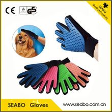 waterproof 2017 trending products pet grooming glove with low price