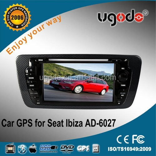 Hot factory OEM/ODM CE certificate car dvd player for seat ibiza parts