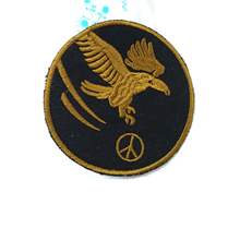 Factory Directly Wholesale Eagle Patch Embroidery Custom Patches