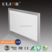 New design led kids ceiling lighting 22watt 6000k cool white 600*300 square led panel light