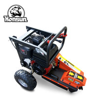 Germany Wan Exhibition invited 9 teeth Honda GX390 gasoline powered stump grinder machine