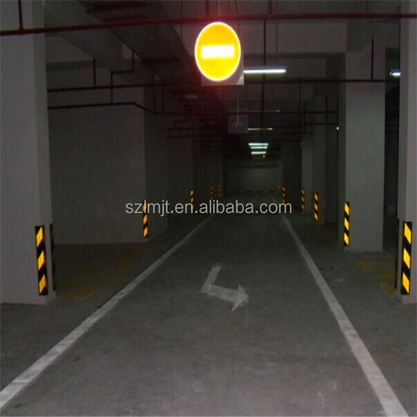 90 Degree rubber column traffic safety corner guard