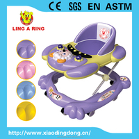 2014 best simple base baby walker with music and light