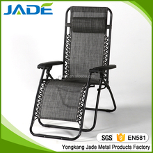 Folding recliner outdoor zero gravity chair with foot rest,lounge folding anti-gravity lying chair indoor